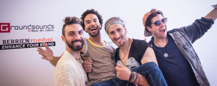Indie Rockers Magic Giant film at Berrien Media